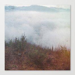 Clouds at Vesuvius Canvas Print