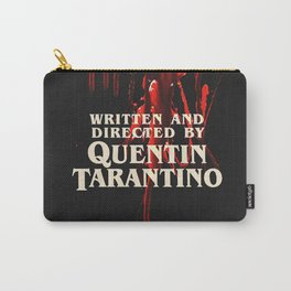 Written + Directed by Quentin Tarantino. Carry-All Pouch