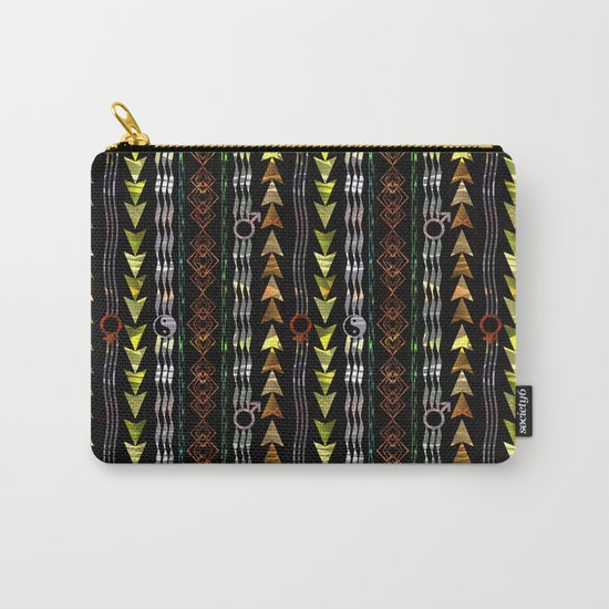 Abstract ethnic pattern. Carry-All Pouch