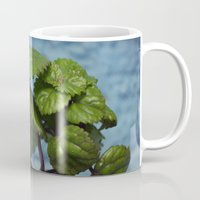 swedish Mugs featuring Swedish ivy by Camaracraft