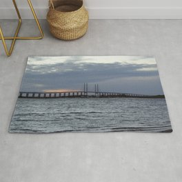 Oresund Bridge, Sweden  Rug
