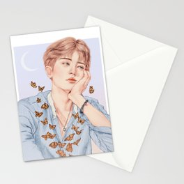 butterfly boy [chanyeol exo] Stationery Cards