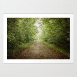 The Road to Somewhere Else Art Print