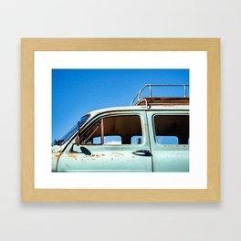 Fregate Framed Art Print