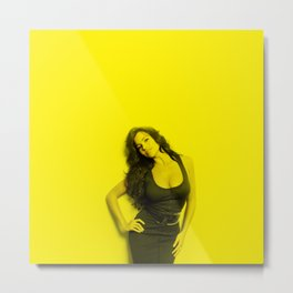 Sofia Vergara - Celebrity (Photographic Art) Metal Print