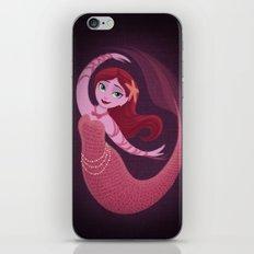 Pink Mermaid iPhone & iPod Skin