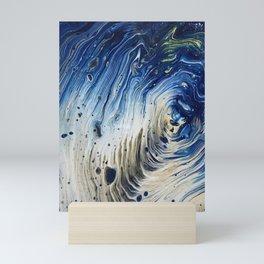 Blue Ocean Wave 2 Mini Art Print