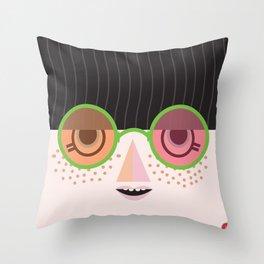 Mello Throw Pillow