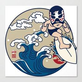 SURF LUCHADOR#2 Canvas Print