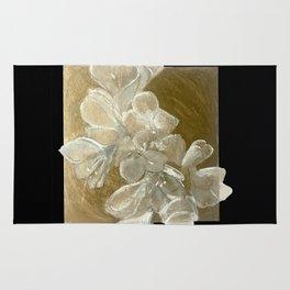 Golden Flowers Rug