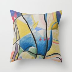 Figure Dance Throw Pillow
