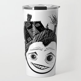 house head Travel Mug