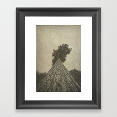 Beautiful bark Framed Art Print