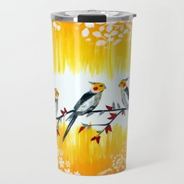 Cockatiels Travel Mug
