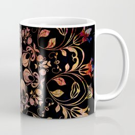 deep toned mandala pattern Coffee Mug