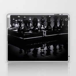 Contemplating Your Next Move when reflecting make sure your memories are clear Laptop & iPad Skin
