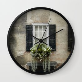 South of Broad - Window Box Wall Clock