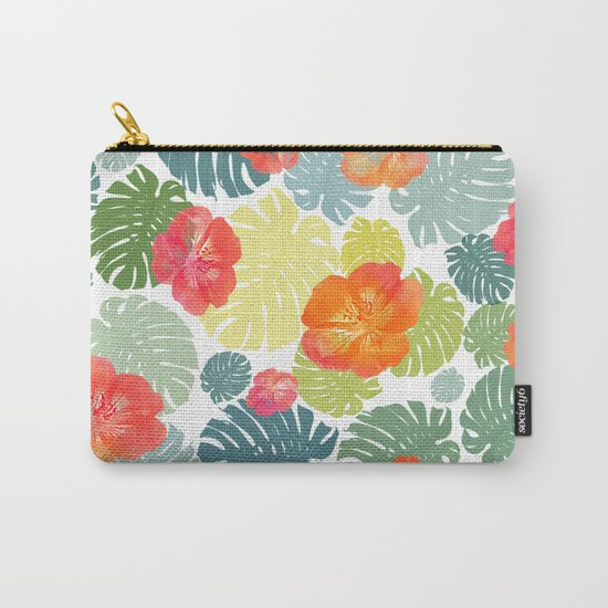Tropical abstract(8) Carry-All Pouch