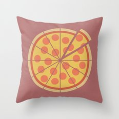 Delivery Time (clock #28) Throw Pillow