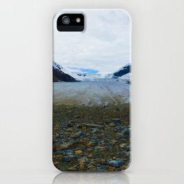 Columbia Icefields in Jasper National Park, Canada iPhone Case