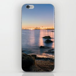 A break from routine. Tranquil spot in 'Montevideo, Uruguay' iPhone Skin