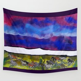 Sky Ponies #32 Wall Tapestry