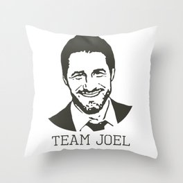 Team Joel Throw Pillow