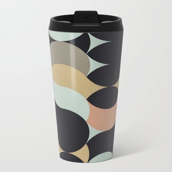 Circles II Metal Travel Mug