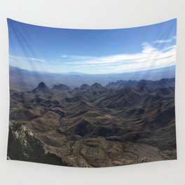 View from South Rim, Big Bend National Park Wall Tapestry