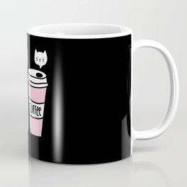 Meow coffee cat Coffee Mug