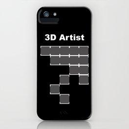 3D Artist iPhone Case