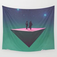 philosophy Wall Tapestries featuring 'Dream of Philosophy'  by Thom Easton