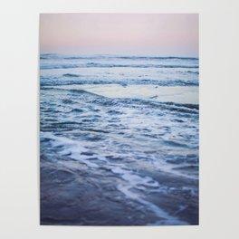 Pacific Ocean Waves Poster