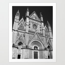 Orvieto Cathedral Art Print