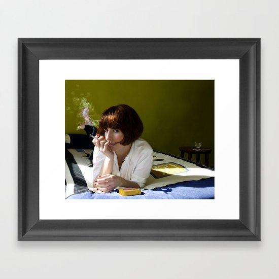 Mia, Pulp Fiction Framed Art Print