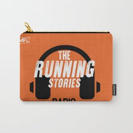 Runnings Stories Radio Carry-All Pouch