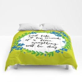 Ten Seconds - Lime Comforters
