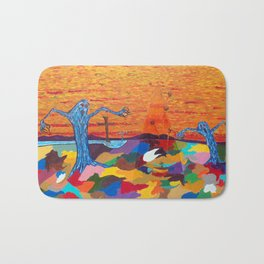The Screaming Trees Bath Mat