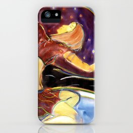 Sky Dancer iPhone Case