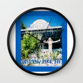 Ivan's on Jost Van Dyke, BVI- World's best honor bar! Wall Clock