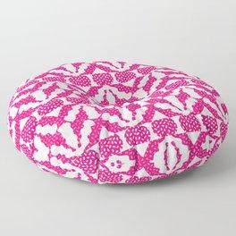 Radish Pink Pop Floor Pillow