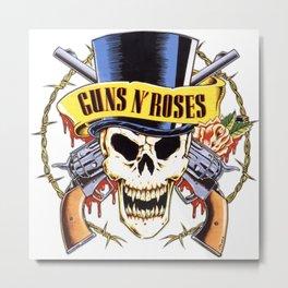 Guns N Roses logo Metal Print