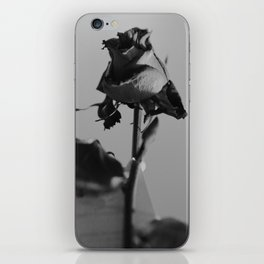 Black and Rosy iPhone Skin