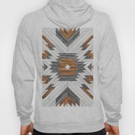 Urban Tribal Pattern 8 - Aztec - Wood Hoody