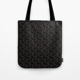 Funky Filaments (black) Tote Bag