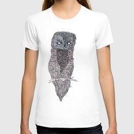 Owl // ink T-shirt