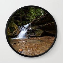 waterfall in Ohio Wall Clock