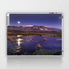 moonlight over the mountains Laptop & iPad Skin