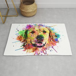 Big Bang color -Golden Retriever- Rug