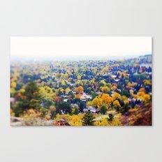 miles of trees Canvas Print